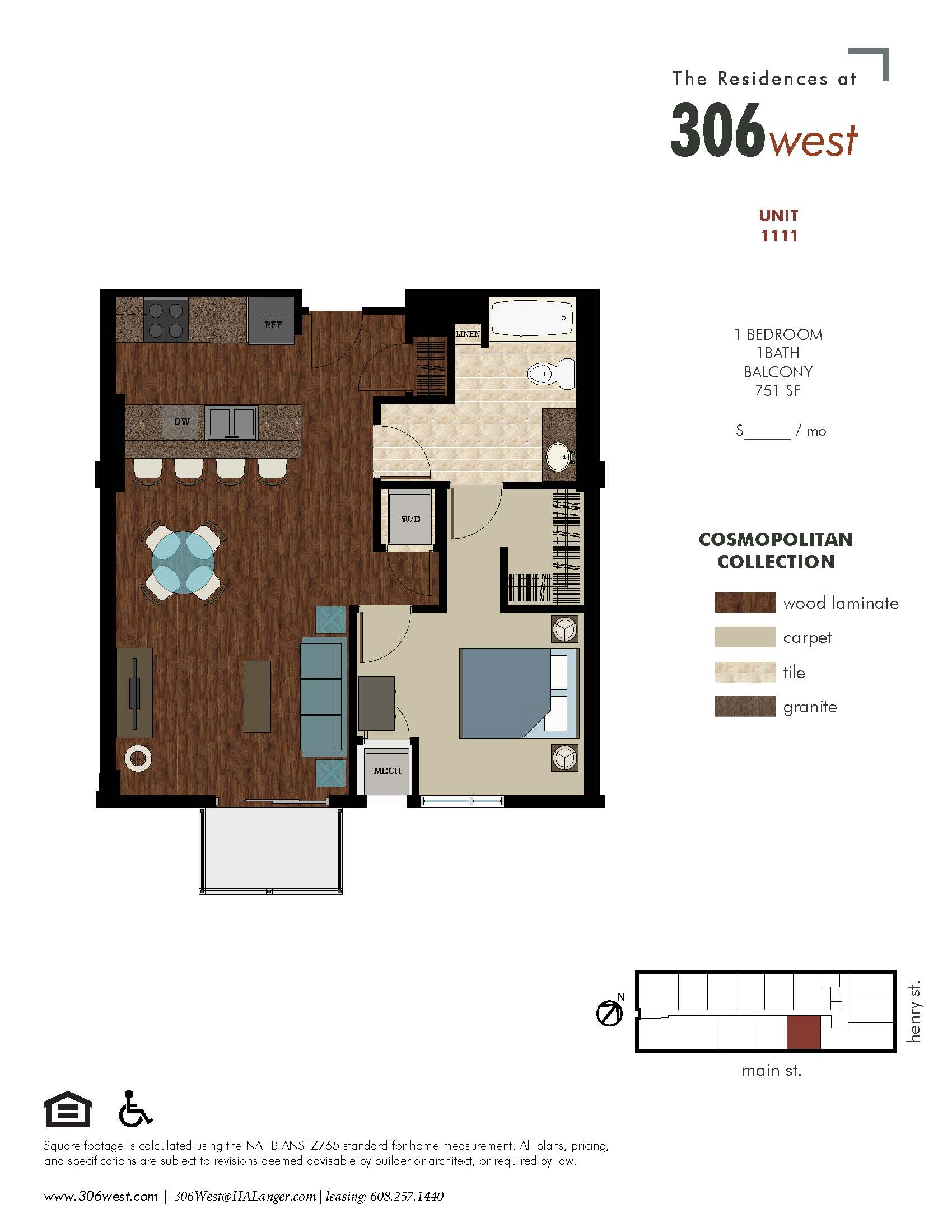 floor plans 306 west luxury apartments in downtown madison
