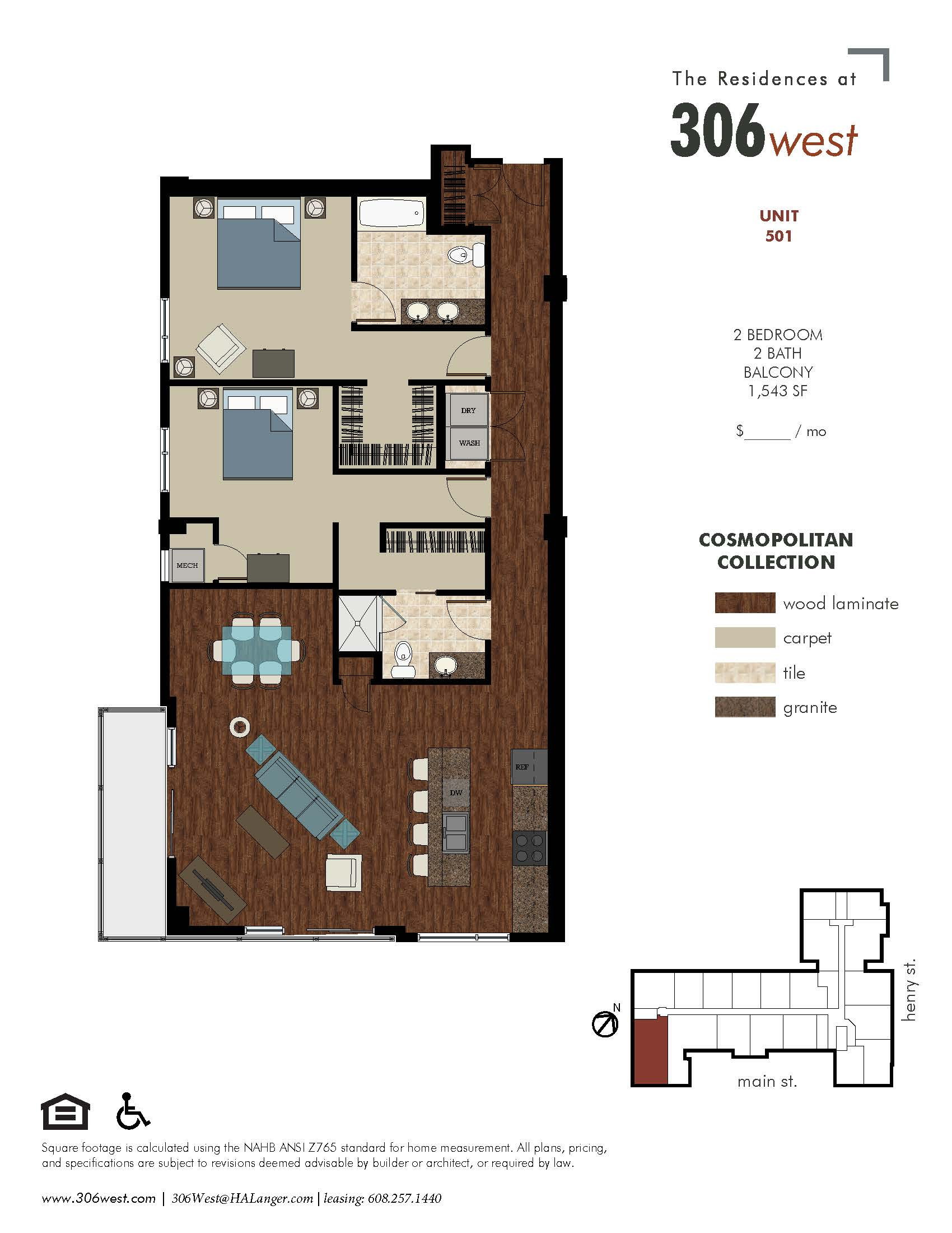 Floor Plans 306 West │ Luxury Apartments In Downtown